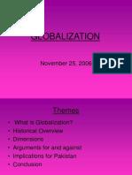 New on Globalisation