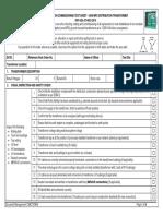 Distribution Commissioning Test Sheet