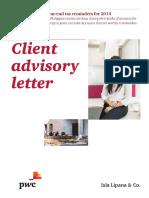 PWC Client Advisory
