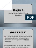 5-Chapter-Social-Organization-Institution.ppt