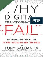 Why Digital Transformations Fails