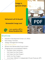 Renewable Energy PDO