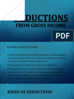 Chapter 8 - Deductions From Gross Income