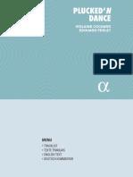 Violaine Cochard & Edouard Ferlet - 2018 - Plucked'N Dance {AJ0411}