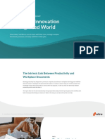 Workflow innovation in a digitized world