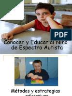 Conocer y Educar Al Niño Con Espectro Autista Por Vanesa Perez(Ilde)
