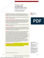 ANDERSEN LW 2015 Time to Epinephrine and Survival in Pediatric in-Hospital Cardiac Arrest