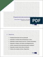 Proyecto de Estructuras Postesadas II