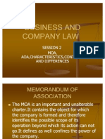 Business and Company Law2