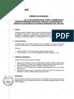 TDR Nuevos Declaracion Anula Residuos Solidos