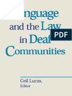 Lucas - Language and the Law in Deaf Communities (Sociolinguistics in Deaf Communities Vol. 9) (2003).pdf