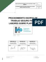 Sg-ssoma-pr-11 Procedimiento de Trabajo Seguro Para Trabajos Sobre Plafones