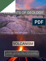 (Volcanism, Diastrophism, Earthquake)