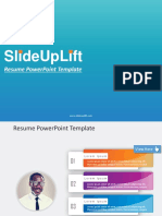 Resume PowerPoint Templates