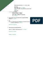 Periodo Laboral 2011 - 2016