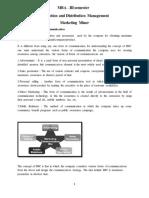 Promotion Distribution Management