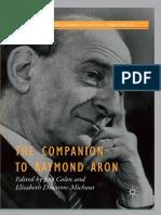 Jose Colen, Elisabeth Dutartre-Michaut (Eds.) Companion to Raymond Aron