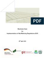 Business Case Net Metering 2016