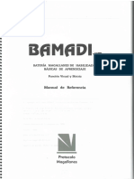 Bamadi Manual de Referencia