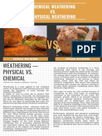 Chemical Weathering vs. Physical Weathering