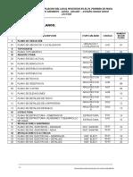 Indice General de Planos LOCAL COMUNAL PRIMERO DE MAYO.docx