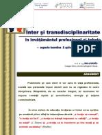 IPT Mecanica de Informare Inter Si Transdisciplinaritate