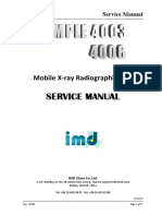 IMD Rayos X Simple 4003-4006 Service Manual