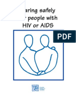 (Health) Caring Safely for People With HIV or AIDS