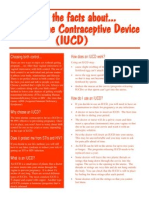 Health Brochures - Get the Facts About Intra-Uterine Contraceptive Device IUCD