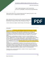 Sobrecarga y Estilos de Afrontamiento en Cuidadores Informales