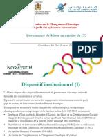 Gouvernance Du Maroc en Matière Du CC