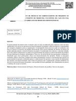 Artigo - Diagnóstico de Práticas Do Gerenciamento de Projetos No