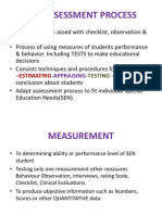 The Assessment Process-2012