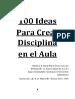 100 Ideas Para Crear Disciplina en El Aula - Edición 2018