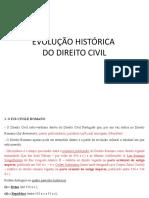 Evolução Histórica Do Direito Civil_2015
