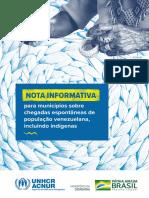 Nota Informativa Venezuelanos