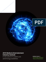 Us Tmt 2019 Media and Entertainment Industry Outlook