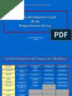 Analisis del Impacto Legal de las Proposiciones de Ley .ppt