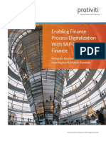 Sap Central Finance Whitepaper