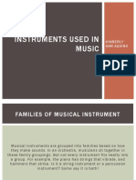 Instruments in music