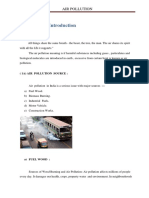 Report Air Pollution
