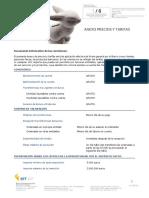 Anexo de Precios y Tarifas v5.09-19