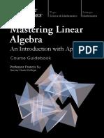 mastering linear agebra