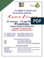2 Bando Riviera Etrusca 2019 Solo Chitarra