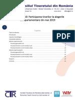 CTR - Analiză alegeri europarlamentare mai 2019