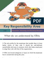 Key Responsibility Area