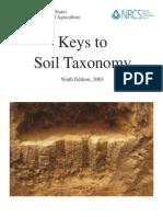 Key to Soil Taxonomy - Soil Survey Staff