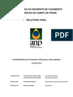 ANP REPORT-Vazamento Frade