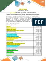 ENUNCIA TALLER -Elaboración de Estados Financieros