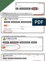 Informazione su metodo pagamento unicusano